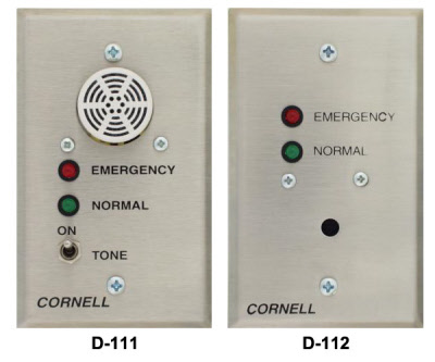 Cornell D-111 & D-112 Nurse Call System Duty Stations ... on