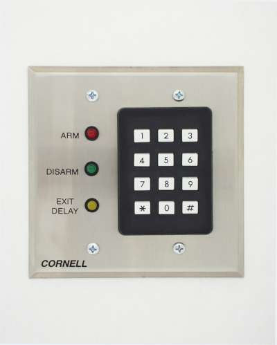 Keypad, Zone Control with Exit Time Delay only