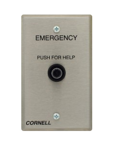 E 113 visual nurse call system cornell communications emergency call cornell e-114-3 wiring diagram at gsmportal.co