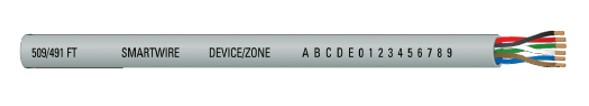 CB-4005, 6 Conductor / 18 Gauge Cable, Gray