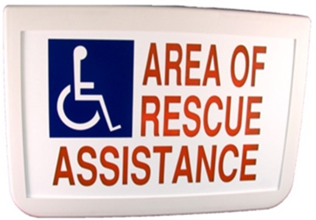 Sign, Electric, Rescue Assist, 1 Side