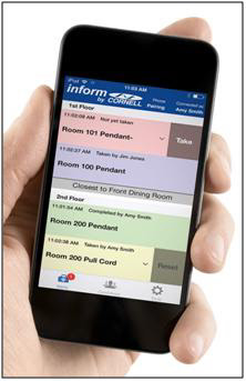 inform Mobile Nurse Call System Interface