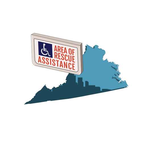 Area of Refuge Requirements in Virginia
