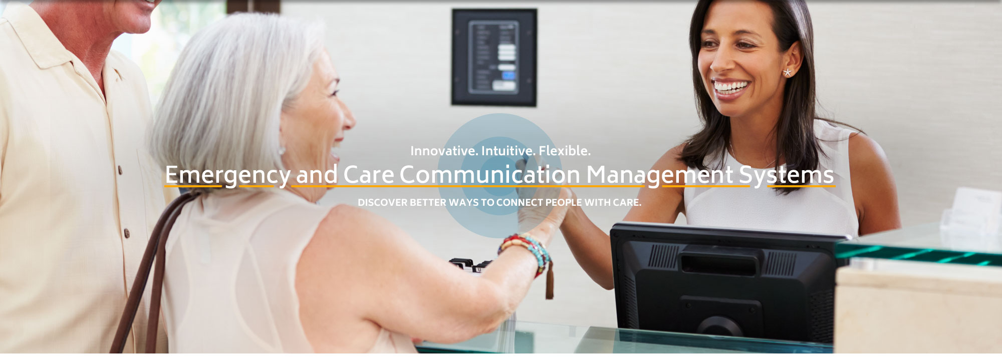 Senior care facility communication systems