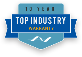 10 Year Top Industry Warranty from Cornell Communications