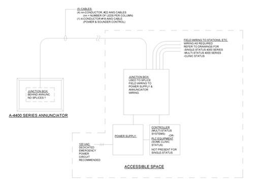 visual nurse call system 4000 series nurse call system nurse visual nurse call schematic